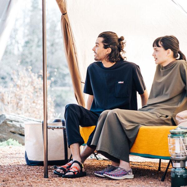 春キャンプは何を着ていけばいいの?おすすめのアイテムをチェック。