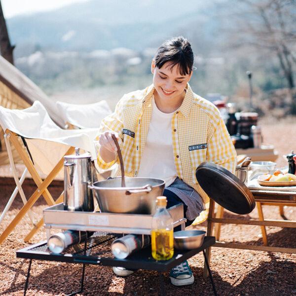 お手軽なキャンプ飯に挑戦しよう。